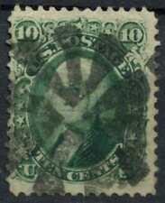 USA 1861 SG#64, 10c Green Washington Used #E2425
