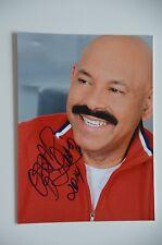 Oscar D 'Leon signed 15x20cm foto autógrafo Autograph IP + el diablo de la salsa