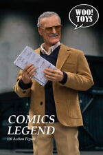 1/6 Woo Toys WO-001 Stan Lee Full Action Figure Model Toy With Accessories New