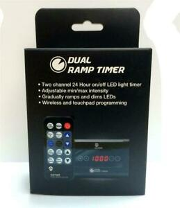 CURRENT USA DUAL RAMP TIMER W/REMOTE - AQUARIUM LED LIGHT TIMER