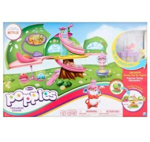 Popples Deluxe Treehouse Playset w/ Exclusive Sunny Pop Up Figure