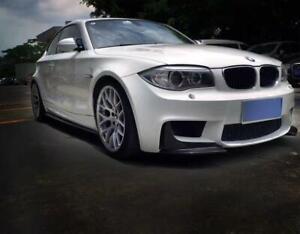 Cstar Carbon Gfk Frontlippe Frontspoiler Splitter Flaps passend für BMW E82 1M