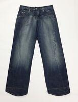 indigo keyjey jeans uomo usato w34 tg 48 relaxed comodo boyfriend denim T3096