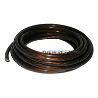 New 4 Gauge 25' Feet Wire Power/Ground Cable Black