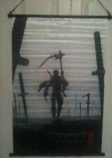"Ninja Gaiden 2 Wall Scroll Poster XBOX360 NEW (22""x32"")"