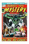 JOURNEY INTO MYSTERY #1 (Oct 1972, Marvel)