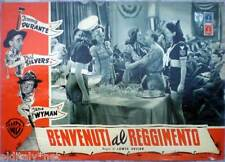 1941s BENVENUTI AL REGGIMENTO-Jimmy Durante-Phil Silver-Jane Wyman-fotobusta