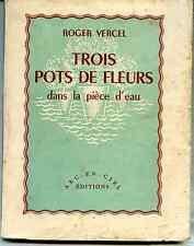 Vercel Trois pots de fleurs,Iles anglo-normandes jersey,guernesey,serk