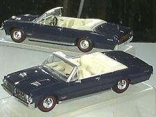 BELLE PONTIAC GTO CABRIO 1964 BLEUE  / DEL PRADO