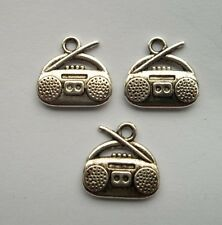 20pcs Tibetan silver radio charm pendant 14.5x15 mm