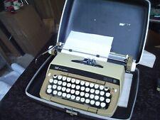 Smith Corona Galaxie Twelve Manual Typewriter w Hard Case