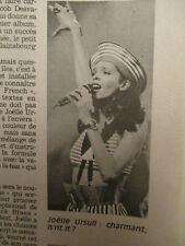 JOELLE URSULL : MERCI GAINSBOURG + SOCA DANCE + DOUR FESTIVAL - 06/09/1990 -