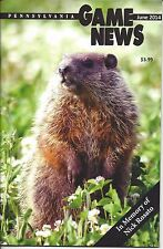 Pennsylvania Game News June 2014 cover by Hal Korber woodchuck groundhog