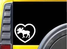 Moose Heart Sticker K949 6 inch decal