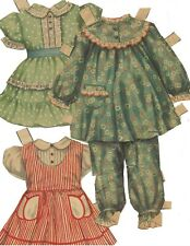 Make Judy Smile Paper Doll Oufits, 1952
