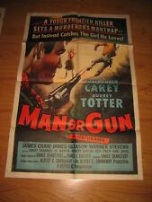 Man or Gun Original 1sh Movie Poster