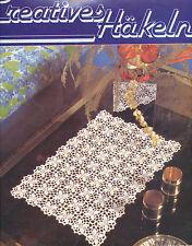 Creatives mettili 4 DECORO PATCHWORK Crochet ricamare iche interamente a mano