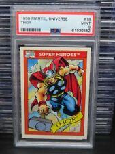 1990 Marvels Universe Thor Super Heroes #18 PSA 9 MINT (52) Q162