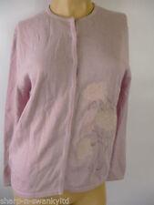 Wool Floral Medium Knit Women's Jumpers & Cardigans