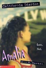 Amalia (California Diaries, No. 4)