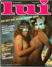 LUI 06/1984   FIONA GELIN*  Juni/1984