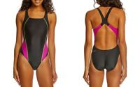 Speedo Swimsuit Solid Drop Back Women's One-Piece Performance Training - ProLT