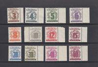 SBZ Mi-Nr. 138-149 ** postfrisch