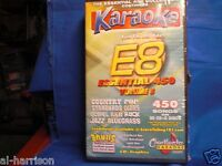 Chartbuster Karaoke Essentials - E-8 SET CD+G 30 DISC 450 SONGS / $69 SALE
