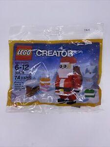 Lego Creator 30478 Santa Claus Poly Bag Retired New Christmas Gifts 74pcs