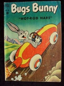 FOUR COLOR #355 BUGS BUNNY DELL COMICS GOLDEN AGE