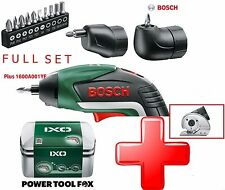 Bundle-Set Bosch IXO5 Lithium Ion Cordless Cacciavite 06039A8072 3165140800051V