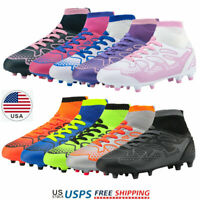 DREAM PAIRS Kids Girls Boys Soccer Shoes Outdoor Multi-Ground Soccer Cleat Kids