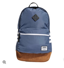 CLASSIC 3-STRIPES PLUS BACKPACK. NEW!!  COLOR MEDIUM BLUE!!