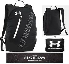 Under Armour Packable Travel, Survival, Black/Whit Backpack