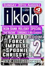 IKON Bank Holiday Special - Sunday 30th August 2015, Room -2