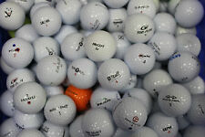 50 USED STORE LINE GOLF BALLS MIXED GROUP  SHIPS FREE ! ! ! ! !