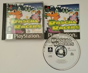 Rascal Racers - Sony PS1 Black Label - Complete
