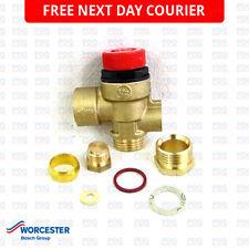 Worcester 230 & 240 Combi Pressure Relieve Valve PRV 87161424160 - GENUINE & NEW