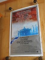 Poster Close Encounters 1980 Original Movie 27x41 Vintage  (P208