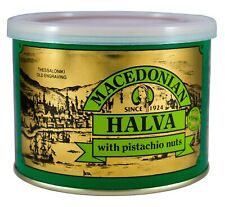 Grec MACEDONIAN HALVA WITH pistaches, poids net 500 g, tin can.