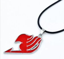Fairy Tail Anime Natsu Dragneel Guild Pendant Necklace Red