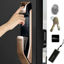 Samsung Keyless Fingerprint Bluetooth Digital Door Lock - Rose Gold