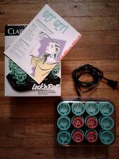 Clairol Lock N' Roll - 80's Heated Hair Stylers/Curlers - 24 Spiral Spoolie Set!