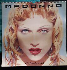 Official Madonna Us Calendar 1994