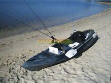 Fishing Kayak Venus Spirit Paddle Fisherman Rod Holders Covered Storage Backrest