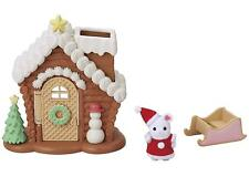 Epoch Sylvanian Families Christmas Baby Santa Claus & Seets House