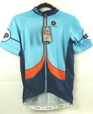 NWT Pactimo Cycling Jersey Men's Small 'REDUX' Blue Orange