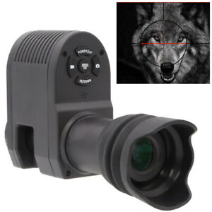 Night Vision Rifle Scope Video Record Hunting Optical Sight Camera 850nm Lase IR