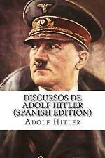 Discursos de Adolf Hitler: By Hitler, Adolf