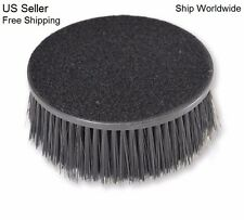 """Carpet Upholstery Seat 5"""" Round Spinner Brush W/ Hook-N-Loop Backing Attachment"""